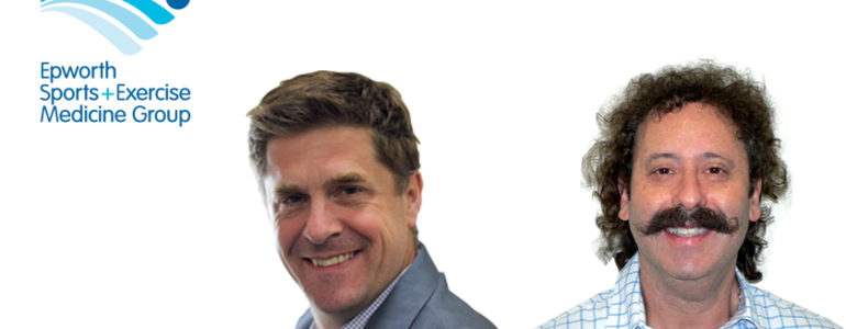Dr Gary Zimmerman and Dr Ruben Branson